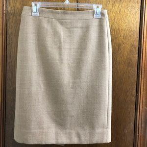 J. CREW No. 2 Pencil Skirt in Size 0